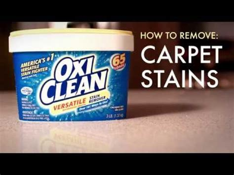 how to clean rug stains how to clean carpet stains with oxiclean versatile stain remover