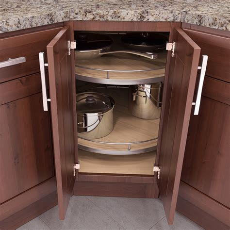Vauth Sagel Recorner Maxx Full Round Lazy Susan 30 Quot Maple Lazy Susans For Cabinets