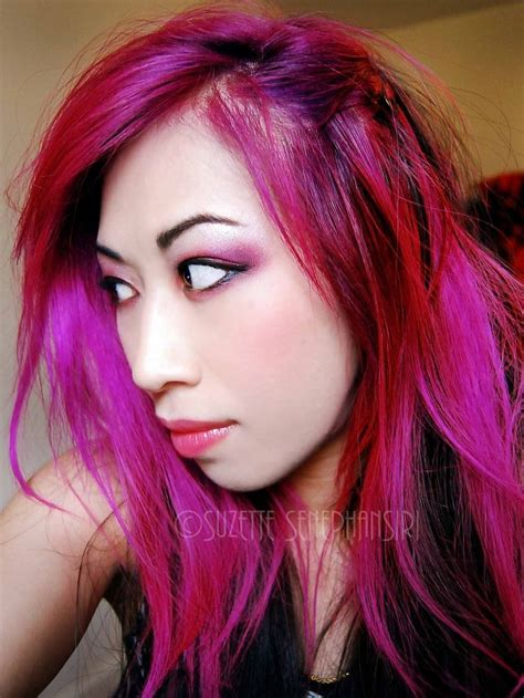 three tone hair color ideas hair color magenta in 2016 amazing photo haircolorideas org