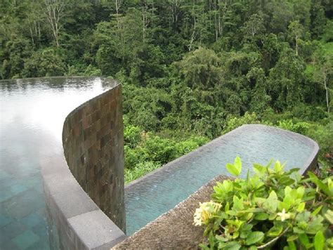 hanging infinity pools in bali hanging infinity pools in bali at ubud hotel resort freshome com