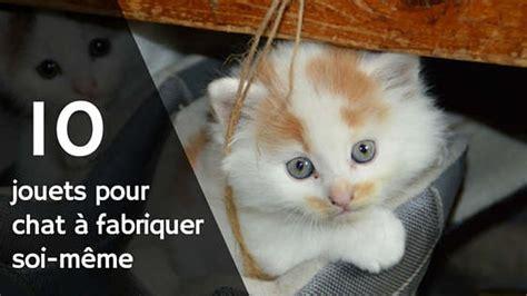 Jouer Pour Chat A Fabriquer by Des Jouets Pour Chat 224 Fabriquer Soi M 234 Me