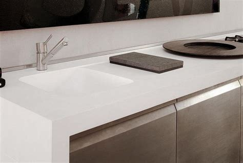 corian 804 sink corian 174 colour cameo white application benchtop
