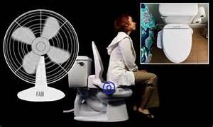 toilet seat with built in fan smart toilet seat has built in fan to eliminate bad odours