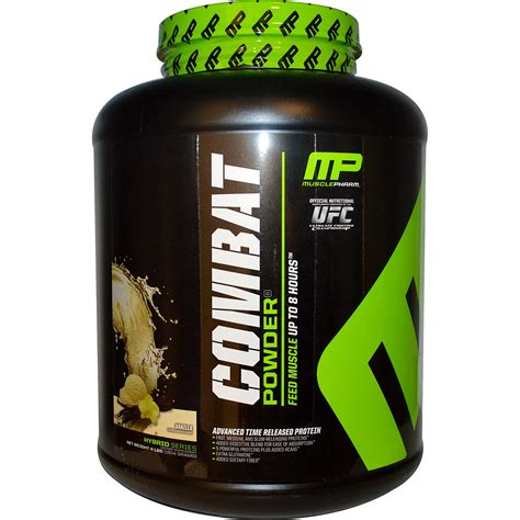 Muscle Pharm, Combat Powder, Advanced Time Release Protein