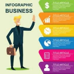 Bussiness Template by Business Infographic Template Vector Free