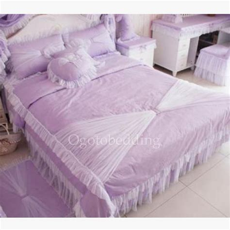 Lavender Comforter by Luxury Lavender Beautiful Comforter Sets With Lace