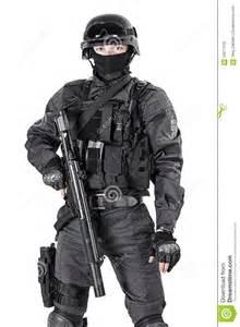 swat officer stock photo image of special helmet