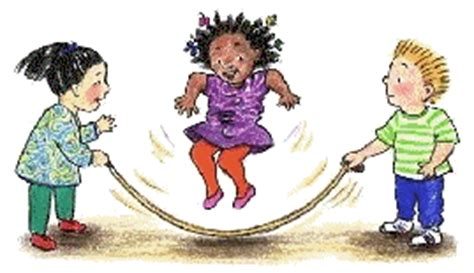 Skipping Anak Jumping Rope Lompat Tali Anak Jam Proyektor Minion saltar la cuerda gifs animados