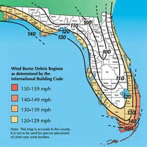 florida wind load map hurricane garage doors precision door free hurricane