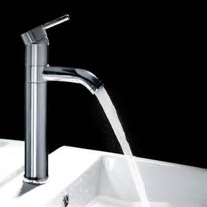 Bath Shower Tap Single Handle Tall Bathroom Faucet Contemporary