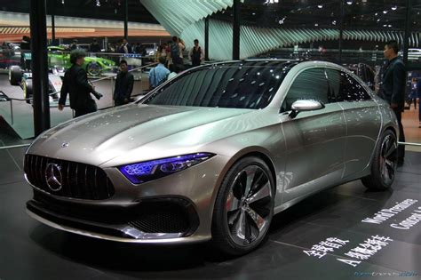 concept mercedes mercedes concept a sedan previews production model