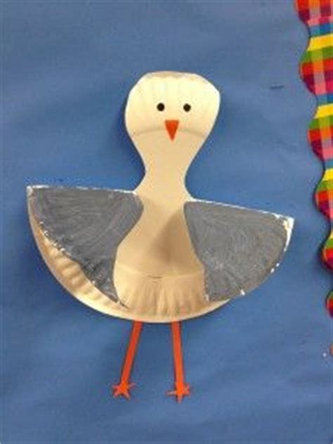 Paper Plate Seagull Craft - 1000 images about seagulls on gull jonathan