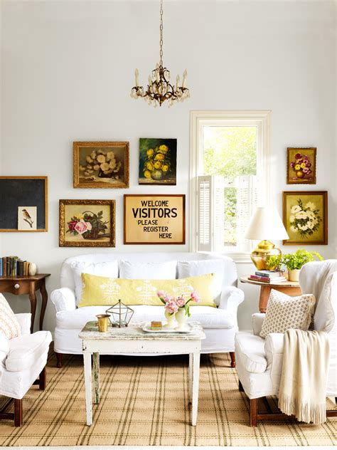 living room decorating ideas with beautiful thrift store