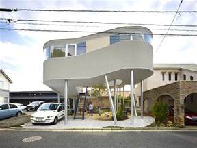 home beautiful original design japan toda house japanese home perched on stilts has an awesome