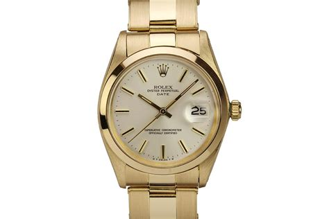 Rolex Ro147 Yellow Silver 18kt yellow gold rolex oyster perpetual date with silver rolex market