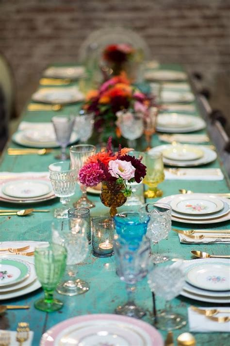 bridal shower table settings our favorite pins instagrams inspired by this