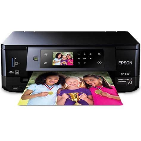 Printer Epson Xp 640 epson expression premium xp 640 mf col ink w less printer