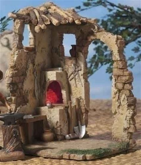 fontanini 7 5 led lighted religious nativity village