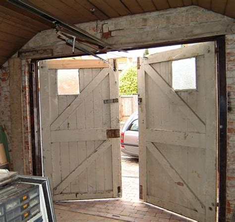 Barn Door Garage Door Side Hinged Barn Doors A Portfolio Of Our Remote Controlled Conversions