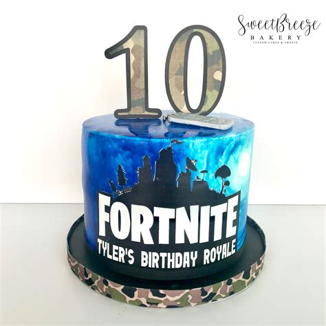 fortnite birthday cake fortnite birthday cake sweetbreezebakery my baking