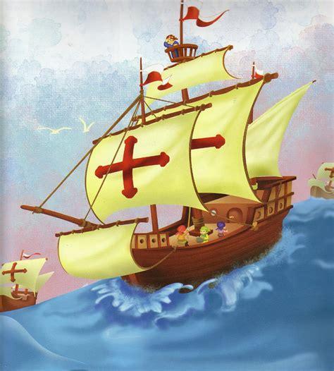 barcos animados de cristobal colon la ardillita orcere 209 a cuento cristobal col 211 n