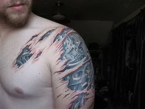 mechanical tattoos for men 41 mechanical tattoos on shoulder