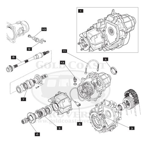landrover discovery 1 transfer box leak land rover lt230