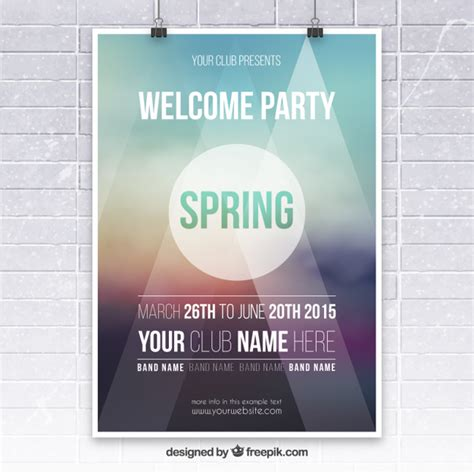 poster template free psd poster vectors photos and psd files free