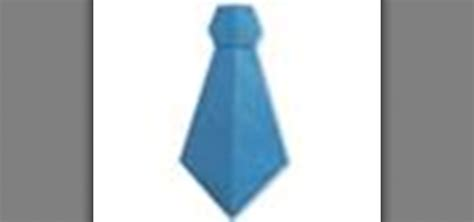 Origami Ties - how to origami a necktie japanese style 171 origami