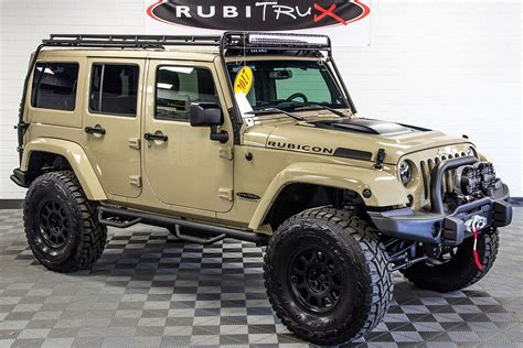 Jeep Jk 2017 Jeep Wrangler Rubicon Unlimited Gobi