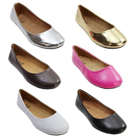 comfortable dressy flats kids girls casual comfort flats round toe slip on flat