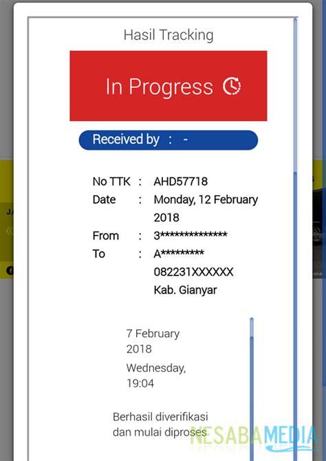 cek resi wahana 2016 cara cek nomor resi wahana dengan cepat terbaru 2018
