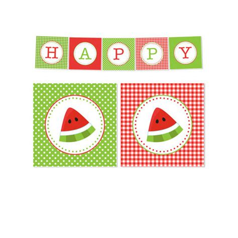 printable watermelon banner 50 off sale printable summer or watermelon party