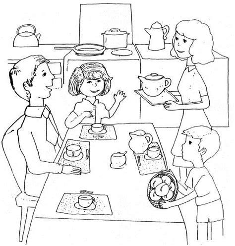 imagenes de una familia en blanco y negro desayunar en familia gif wchaverri s blog