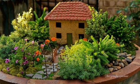 miniature gardening com cottages c 2 the graceful gardener 187 miniature container gardening