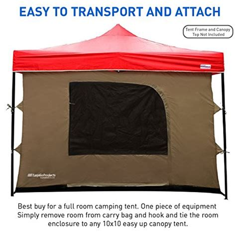 10 X10 Canopy Floor - cing tent attaches to any 10 x10 easy up pop up canopy