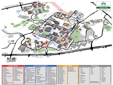 Uncc Finder Maps Facilities Management Unc