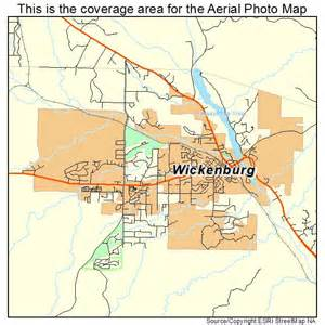 wickenburg arizona map aerial photography map of wickenburg az arizona