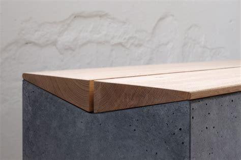sitzbank flur betonoptik emejing betonbank mit holzauflage photos