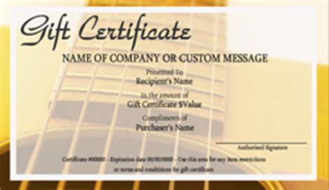 school gift certificate templates easy   gift certificates