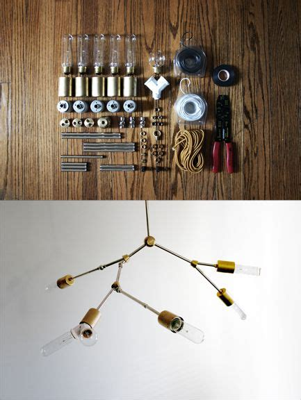 Diy Chandelier Kit Do This Adelman Industrial Chandelier Diy Kit Http Www Lindseyadelman Makeit Php