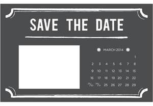 Free Save The Date Photo Templates 4 printable diy save the date templates