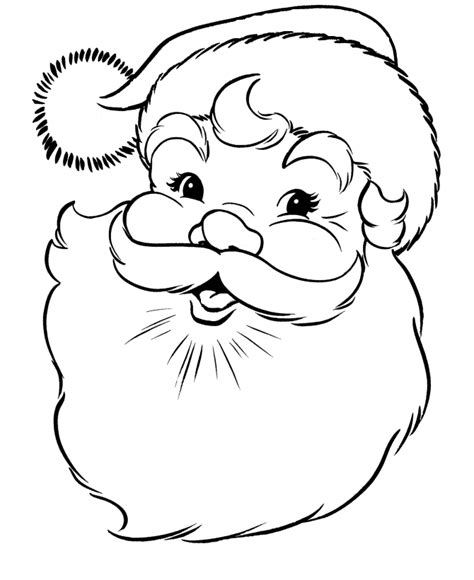 cute santa coloring pages merry christmas 2014 happy new year 2015 christmas new
