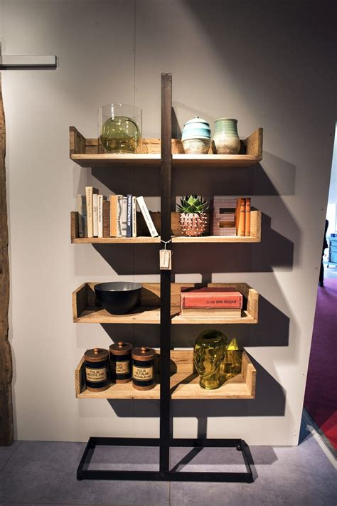 open wooden shelves bringing modularity  decorating ease
