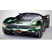 The Alfa Romeo Furia Supercar Concept Pays Homage To History