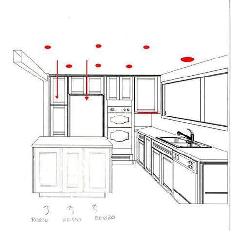 kitchen lighting design layout recessed lighting layout google and lighting on pinterest