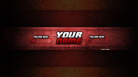 Yt Red Channel Art By Mainegfx By Mainegraphics On Deviantart Yt Channel Template