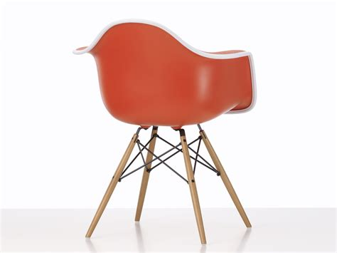 Vitra Eames Armchair by Buy The Vitra Upholstered Daw Eames Plastic Armchair At