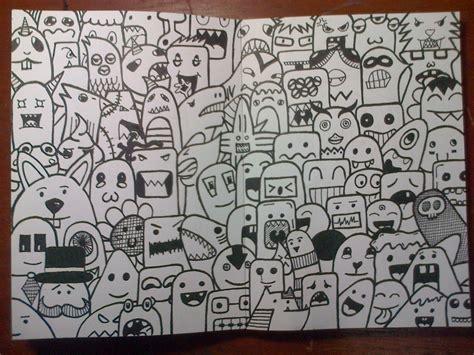 doodle ulang tahun doodle seni mencoret vincent cahya