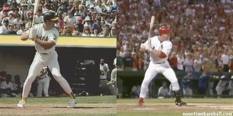 mark mcgwire swing top 10 home run swings of the modern era